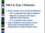 dka in type 2 diabetics
