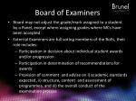board of examiners1