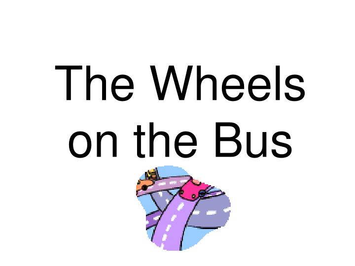 the wheels on the bus n.
