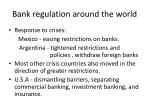 bank regulation around the world