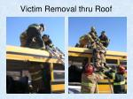 victim removal thru roof2