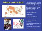 what is an idea state