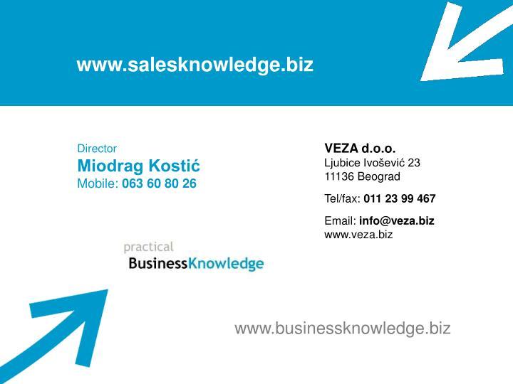 www.salesknowledge.biz