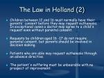 the law in holland 2
