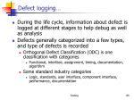 defect logging2