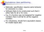 equivalence class partitioning1