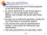 test case specifications2