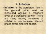4 inflation
