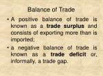 balance of trade1