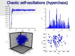 chaotic self oscillations hyperchaos
