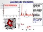 quasiperiodic oscillations