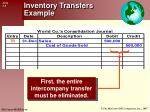 inventory transfers example1