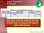 land transfers example1
