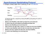asynchronous handshaking protocol