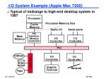 i o system example apple mac 7200