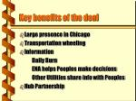 key benefits of the deal