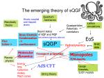 the emerging theory of sqgp