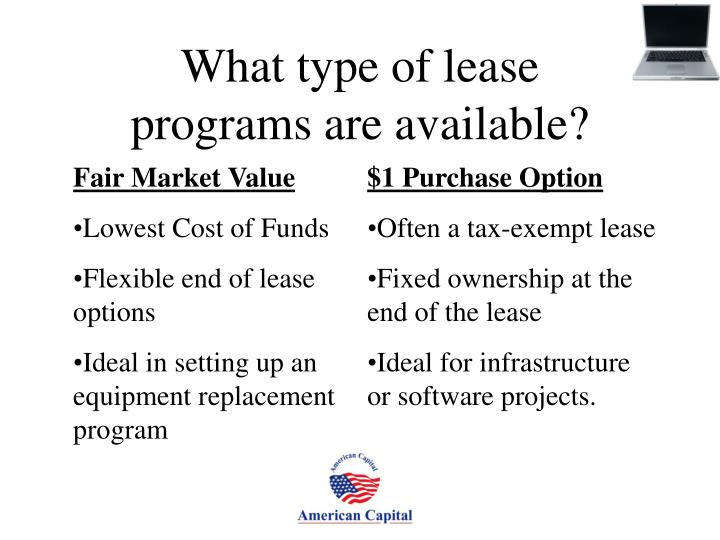 What type of lease
