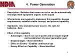 4 power generation