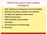 civicus key aspects of the enabling environment