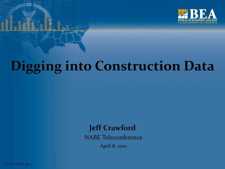 digging into construction data n.