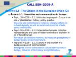 call ssh 2009 a activity 8 5 the citizen in the european union 2