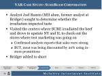 var case study surebeam corporation1