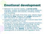 emotional development1