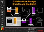 collaborative storage faculty and students1
