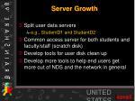 server growth