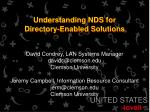 understanding nds for directory enabled solutions