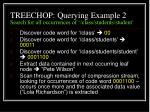 treechop querying example 2 search for all occurrences of class students student