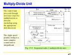 multiply divide unit
