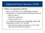 adjusted gross income agi