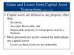 gains and losses from capital asset transactions slide 1 of 2