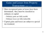 gains and losses from property transactions slide 3 of 3