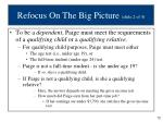 refocus on the big picture slide 2 of 4