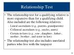 relationship test1