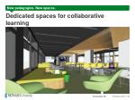 dedicated spaces for collaborative learning1