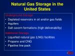 natural gas storage in the united states