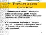 proposition de phrase d introduction1