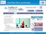 helitech 2014 amsterdam