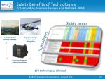 safety benefits of technologies presented at avionics europe and helitech 2013