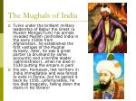 the mughals of india