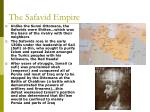 the safavid empire