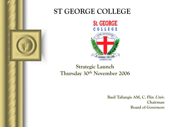 st george college n.