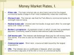 money market rates i