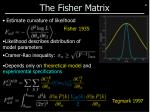 the fisher matrix