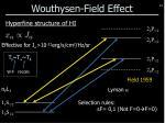 wouthysen field effect