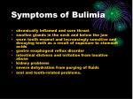 symptoms of bulimia